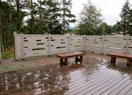 Patio Fence Ideas Cedar Creek Lumber For A Patio With A Western Red Cedar Fencing