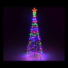 crazy christmas tree lights giant multi colour led christmas tree 2 2m crazy sales