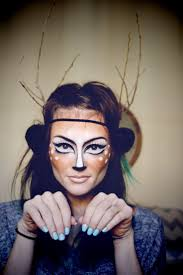 Bat Face Makeup Halloween by Best 25 Deer Face Paint Ideas On Pinterest Bambi Costume Deer
