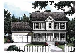 eplans farmhouse house plan traditional two story 1600 square