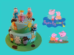 decoration cupcake anniversaire gâteau peppa pig peppa pig cake cake design youtube