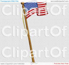 Us Flag Vector Free Download Vector American Flag Waving Clipart Clear Background