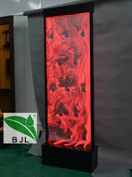 raumteiler acryl led raumteiler wasserblase wand panel mit logo beleuchtete acryl