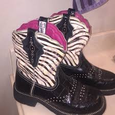 womens zebra boots 41 ariat shoes s ariat zebra print baby boots
