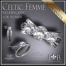wiccan engagement rings second marketplace wedding ring celtic femme womens