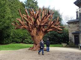 the iron tree by ai wei wei picture of sculpture park