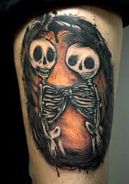 40 skeleton tattoo designs tattoos pinterest skeleton