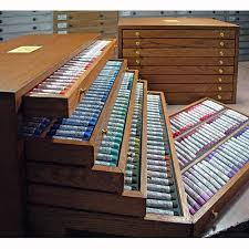 Artbin Store In Drawer Cabinet Henri Roche Complete Pastel Set Of 1057 In Wood Drawer Cabinets