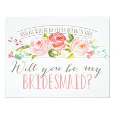 asking bridesmaids cards future in bridesmaid poem request gown card zazzle