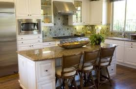 Classic Kitchen Plan With White Kitchen Cabinet And Stunning Brown - Classic kitchen cabinet