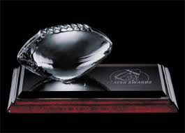 engraved football gifts engraved glass gifts glass football items