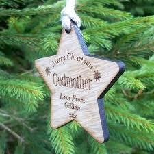 godmother christmas gift godmother xmas wooden christmas gift