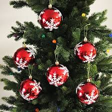 festive season snowflake shatterproof