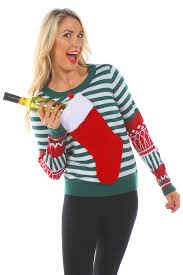 womens sweater tipsy elves