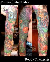24 tattoos on sleeve