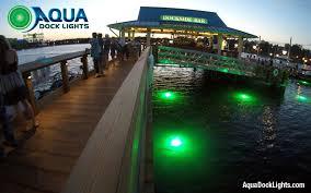 led lights photos aqua dock lights