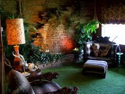 elvis u0027 jungle room tiki modern pinterest jungle room room