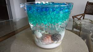 water centerpieces water bead centerpiece using led submersible lights