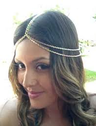 chain headband wedding chain women bohemian headpiece headband metal jewelry