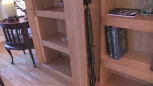 hidden gun cabinet bookcase plans plans hidden gun cabinets