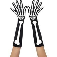 Scary Halloween Skeleton Online Get Cheap Scary Halloween Gloves Aliexpress Com Alibaba
