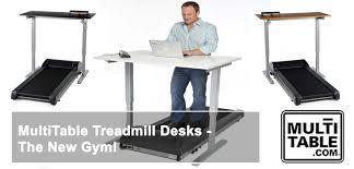 Standing Treadmill Desk by Treadmill Desk The New Gym Multitable
