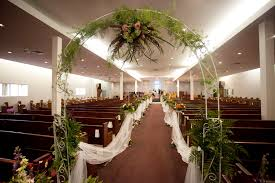 Wedding Flowers Church I Did This For My Elder Sons Wedding I Put The Arch At The Back