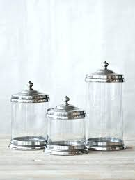 clear canisters kitchen kitchen glass canisters xamthoneplus us