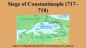 Map Of Constantinople Siege Of Constantinople 717 U2013718 Youtube