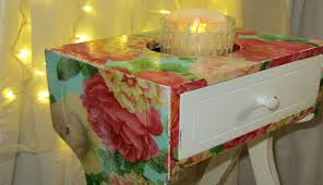 diy the easiest furniture makeover w decoupage youtube