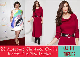 2016 Christmas Outfits for Plus size women  23 Party Wear  Beauty