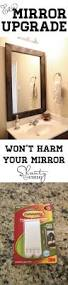 cheap and easy way to update a bathroom bathroom mirrors and