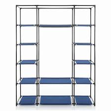 ikayaa cloth wardrobe storage closet wardrobe clothing hanger