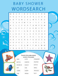 thanksgiving word search worksheets printable finding nemo themed baby shower word search