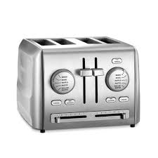 Images Of Bread Toaster Cuisinart 4 Slice Stainless Steel Custom Select Toaster Cpt 640