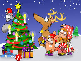 funny christmas cartoon 7 wide wallpaper funnypicture org