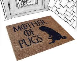 view rude unwelcome mats by damngooddoormats on etsy