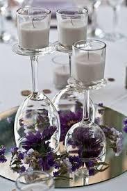 centre de table mariage pas cher idée déco mariage pas cher verre de vin à l inverse centre de