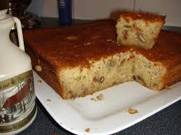 hervé cuisine dessert gâteau canadien aux noix de pécan miel et sirop d érable