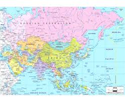map of asia countries and cities maps of asia and countries political administrative with map