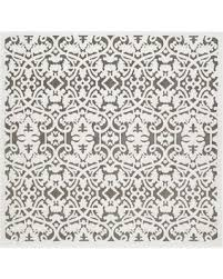 6 Square Area Rug Here S A Great Deal On Safavieh Paradise Scroll 6 Square Area Rug