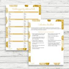 wedding planner calendar gold wedding planner diy wedding binder gold wedding binder