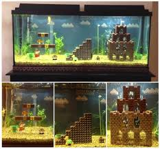mario bros aquarium aquarium ideas aquariums