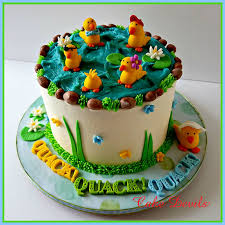 duck cake fondant ducks duck cake toppers five ducks easter