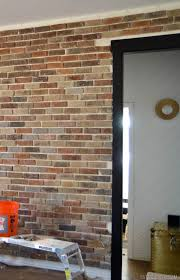 installing brick veneer inside your home u2022 vintage revivals