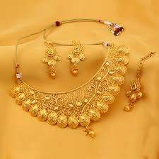 gold choker necklace set images Sukkhi traditional gold plated kundan choker necklace set for jpg