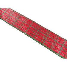 cheap wired ribbon cheap plaid ribbon christmas find plaid ribbon christmas deals on