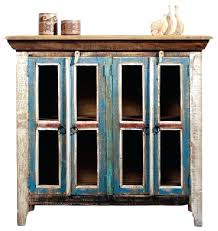 reclaimed wood curio cabinet reclaimed wood curio cabinet marvelous distressed curio cabinet