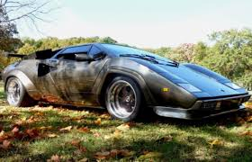 classic lamborghini countach man spends 17 years building a lamborghini countach in his
