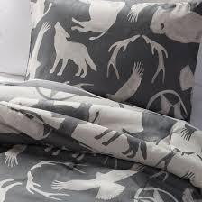 Tan And Black Comforter Sets Wild West Comforter Set Tan Pillowfort Target